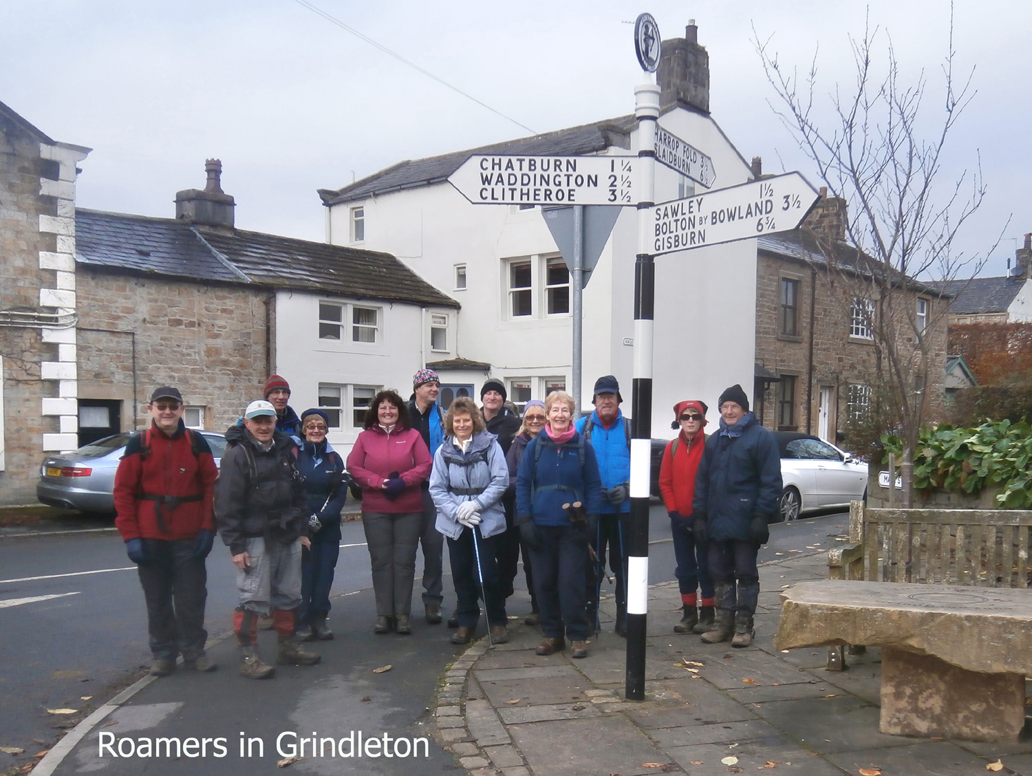 Roamers at Grindleton pic